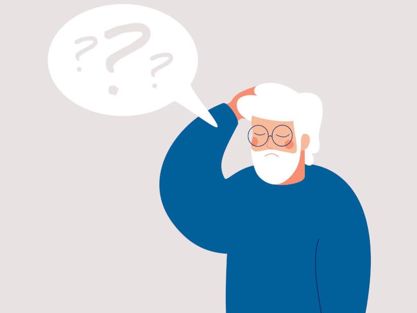 10 Anzeichen für Alzheimer-Demenz