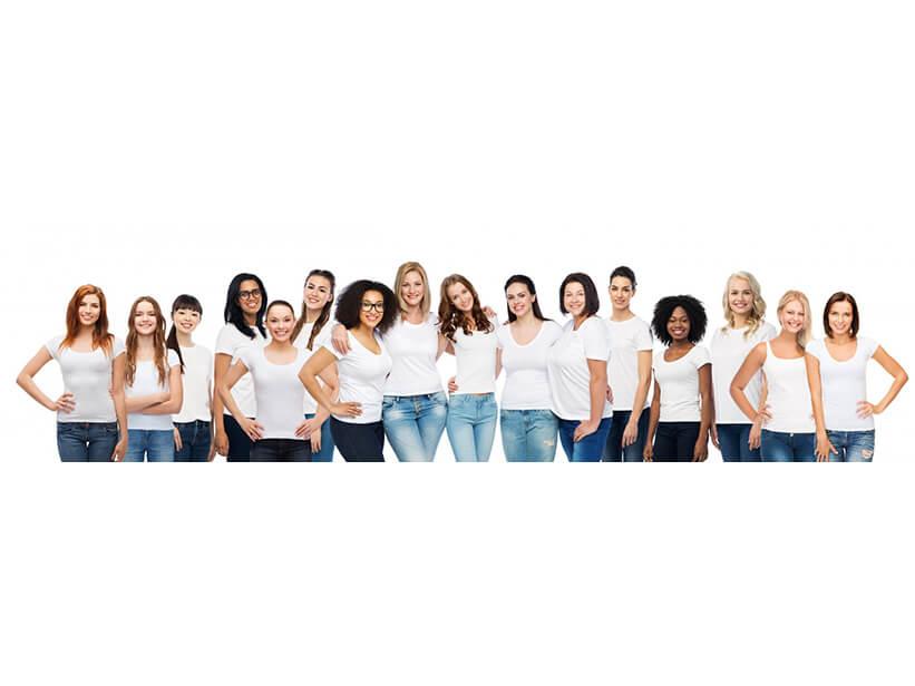 Kleine Frauen, große Frauen – wie Deine Körpergröße Dein Leben beeinflusst